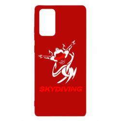 Чохол для Samsung Note 20 Skidiving