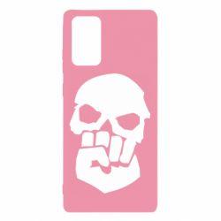 Чехол для Samsung Note 20 Skull and Fist