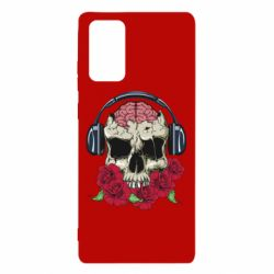Чохол для Samsung Note 20 Skull and roses