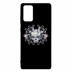 Чохол для Samsung Note 20 Skull with horns and patterns