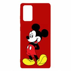 Чехол для Samsung Note 20 Smiling Mickey