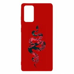 Чохол для Samsung Note 20 Snake and roses