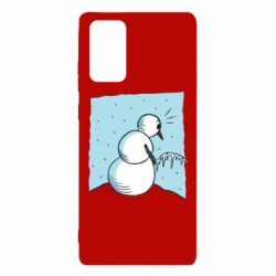 Чохол для Samsung Note 20 Snowman. It's Cold!