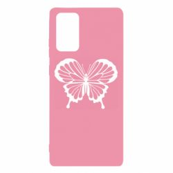 Чехол для Samsung Note 20 Soft butterfly