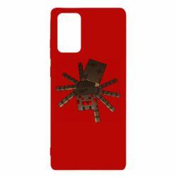 Чехол для Samsung Note 20 Spider from Minecraft