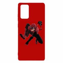 Чехол для Samsung Note 20 Spiderman flat vector