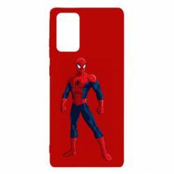 Чохол для Samsung Note 20 Spiderman in costume