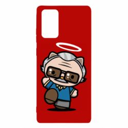 Чохол для Samsung Note 20 Stan lee in hello kitty style