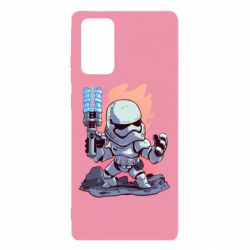 Чохол для Samsung Note 20 Stormtrooper chibi