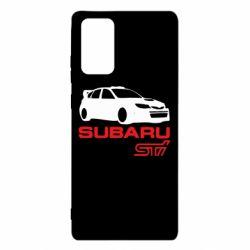 Чехол для Samsung Note 20 Subaru STI