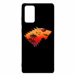 Чехол для Samsung Note 20 Summer Wolf with glasses Game of Thrones