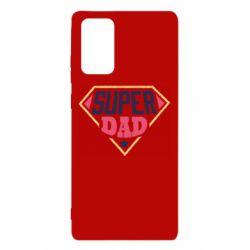 Чехол для Samsung Note 20 Super dad text