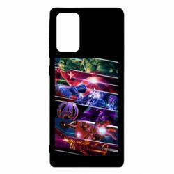 Чехол для Samsung Note 20 Super power avengers