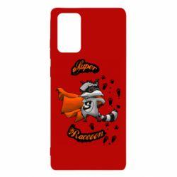 Чехол для Samsung Note 20 Super raccoon