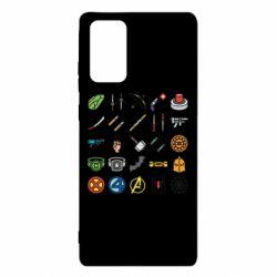 Чохол для Samsung Note 20 Superhero Icon Set