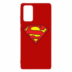 Чехол для Samsung Note 20 Superman Symbol
