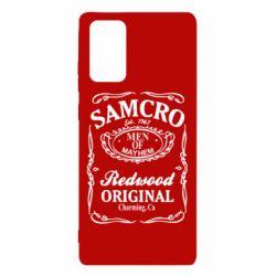 Чехол для Samsung Note 20 Сыны Анархии Samcro