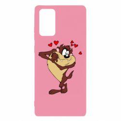 Чехол для Samsung Note 20 Taz in love