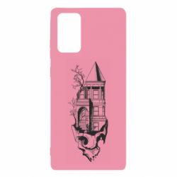 Чохол для Samsung Note 20 The castle is on the skull