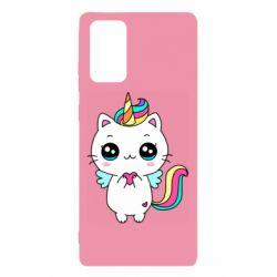 Чохол для Samsung Note 20 The cat is unicorn