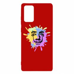 Чохол для Samsung Note 20 The face of Salvador Dali on the edge