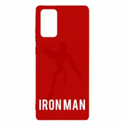 Чехол для Samsung Note 20 The Invincible Iron Man