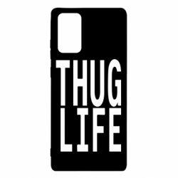 Чехол для Samsung Note 20 thug life