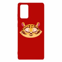 Чохол для Samsung Note 20 Tiger with a smile