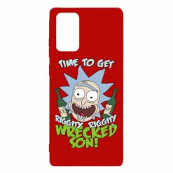 Чехол для Samsung Note 20 Time to get riggity wrecked son