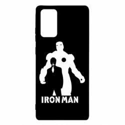 Чехол для Samsung Note 20 Tony iron man