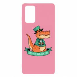 Чехол для Samsung Note 20 Trex patrick day