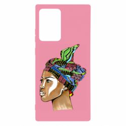 Чохол для Samsung Note 20 Ultra African girl in a color scarf