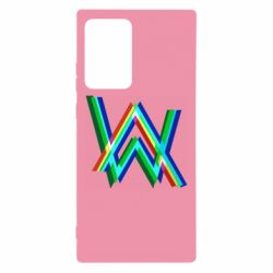 Чехол для Samsung Note 20 Ultra Alan Walker multicolored logo