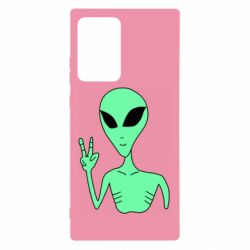 Чехол для Samsung Note 20 Ultra Alien and two fingers