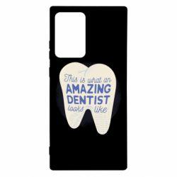 Чохол для Samsung Note 20 Ultra Amazing Dentist