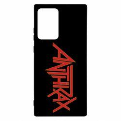 Чехол для Samsung Note 20 Ultra Anthrax red logo