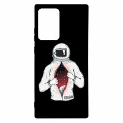 Чохол для Samsung Note 20 Ultra Astronaut with spaces inside