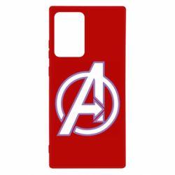 Чехол для Samsung Note 20 Ultra Avengers and simple logo