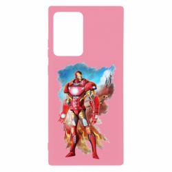 Чохол для Samsung Note 20 Ultra Avengers iron man drawing