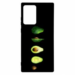 Чехол для Samsung Note 20 Ultra Avocado set