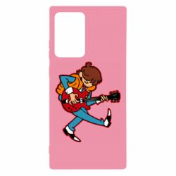 Чехол для Samsung Note 20 Ultra Back to the Future Marty McFly