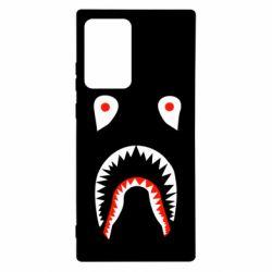 Чехол для Samsung Note 20 Ultra Bape shark logo