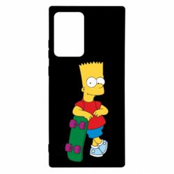 Чохол для Samsung Note 20 Ultra Bart Simpson