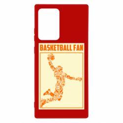 Чохол для Samsung Note 20 Ultra Basketball fan