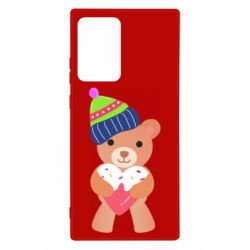 Чехол для Samsung Note 20 Ultra Bear and gingerbread