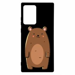Чехол для Samsung Note 20 Ultra Bear with a smile