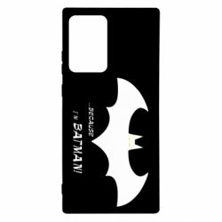 Чохол для Samsung Note 20 Ultra Because i'm batman
