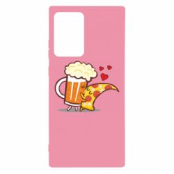 Чохол для Samsung Note 20 Ultra Beer and Pizza were kissed