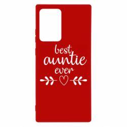 Чохол для Samsung Note 20 Ultra Best auntie ever