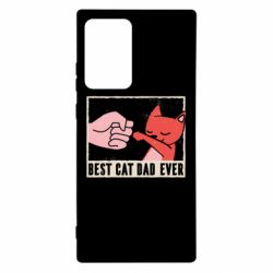 Чехол для Samsung Note 20 Ultra Best cat dad ever